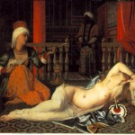 "J.A.D. Ingres, ""Odalisque avec Eslave,"" Fogg Art Museum"