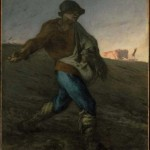 Millet, The Sower, 1850, MFA Boston