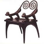 Judy McKie, Monkey Chair 1994