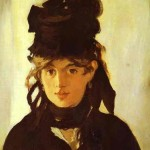 Berthe Morisot by Edouard Manet, 1872, private collection, Paris
