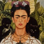 Frida Kahlo with Hummingbird Necklace