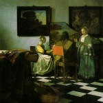The Concert by Jan Vermeer
