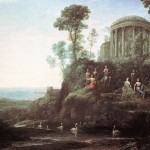 Claude Lorrain, Apollo And The Muses On Mt Helicon, 1628