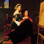 Ingres, Raphael and the Fornarina, 1812, Fogg Art Museum