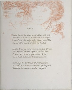 Bonnard, Verlaine, Parallelement