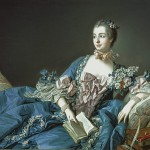 Francois Boucher, Madame de Pompadour, National Gallery of Art,Scotland