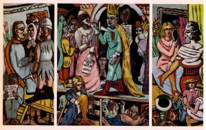 Max Beckmann, The Actors, 1942, HUAM