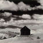Barn and Clouds, in the Vicinity of Naples and Dansville, New York 1955